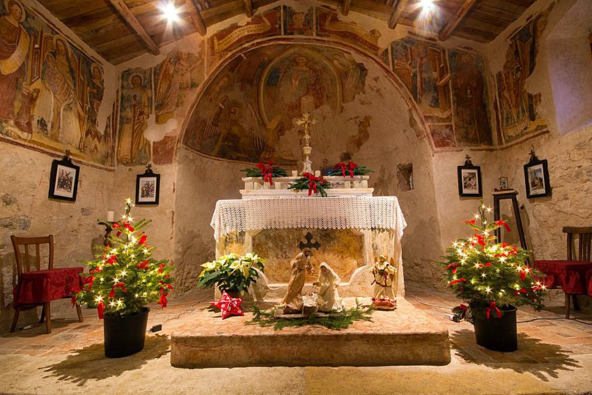 Chiesa San Pietro in Vincoli Campo VR.
